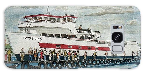 Fajardo Ferry From Vieques Puerto Rico Galaxy Case