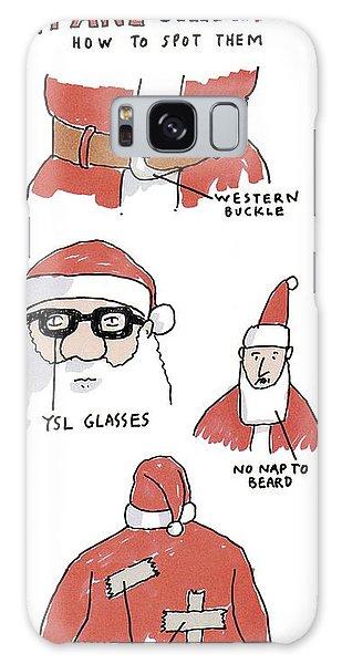 Fake Santas Galaxy Case