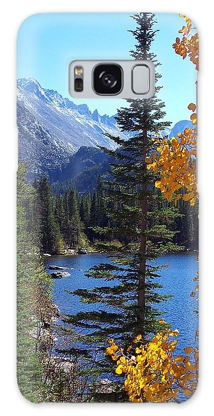 Fall At Bear Lake Galaxy Case