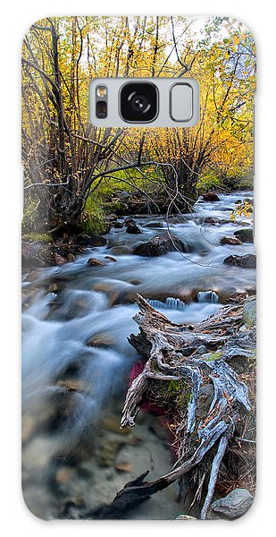 River Galaxy Case - Fall At Big Pine Creek by Cat Connor