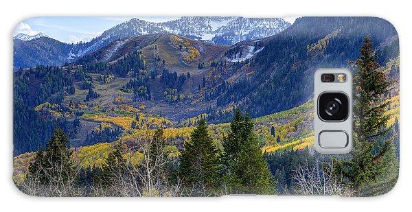 Fall At Cascade Peak And Sundance From Alpine Loop  Galaxy Case