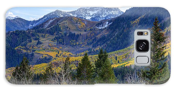 Fall At Cascade Peak And Sundance From Alpine Loop  Galaxy Case