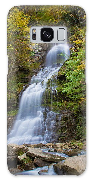 Fall At Cathedral Falls Galaxy Case