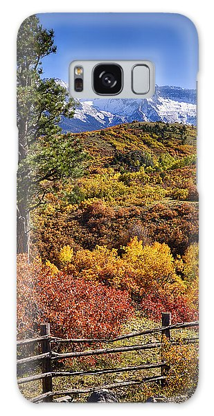 Fall At Dallas Divide Galaxy Case by Priscilla Burgers