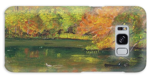 Fall At Dorrs Pond Galaxy Case
