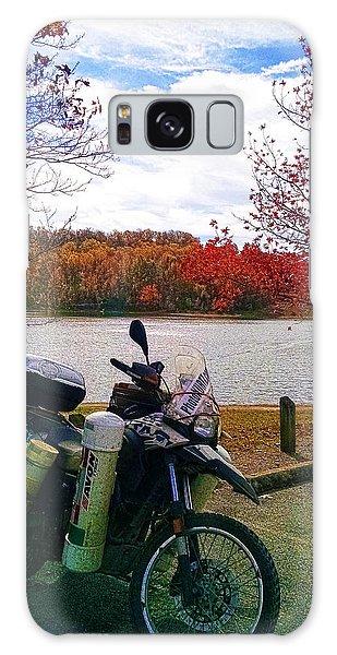 Fall At Fern Clyffe Galaxy Case by Jeff Kurtz