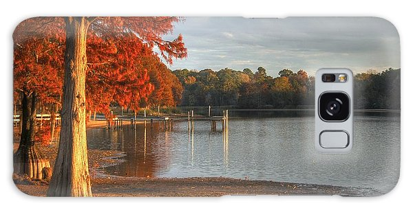 Fall At Georgia Lake Galaxy Case by Donald Williams