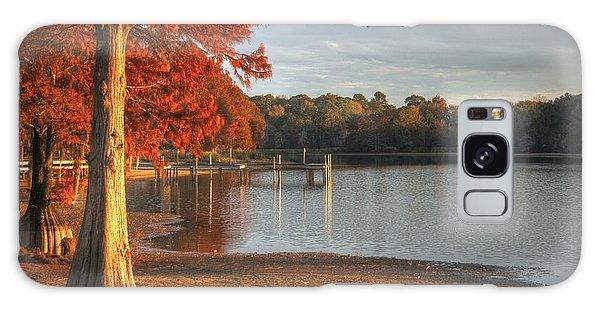 Fall At Georgia Lake Galaxy Case by Donald Williams