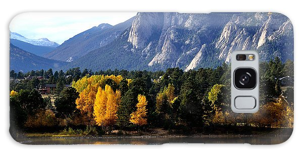 Fall At Lake Estes Galaxy Case