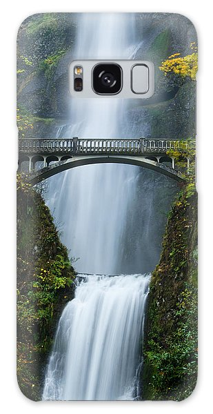 Fall At Multnomah Falls Galaxy Case