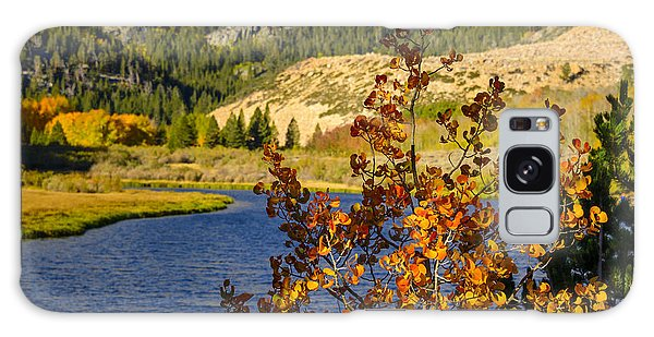 Fall At North Lake Galaxy Case