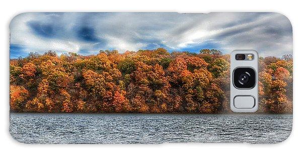 Fall At The Lake Galaxy Case