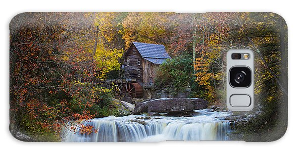 Mill At Babcock State Park Galaxy Case