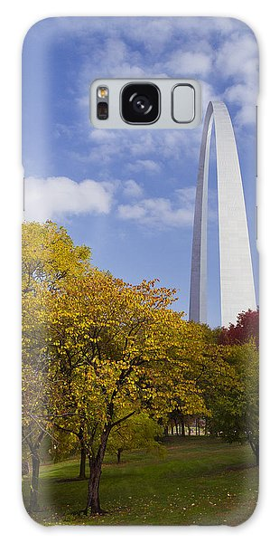 Fall At The St Louis Arch Galaxy Case