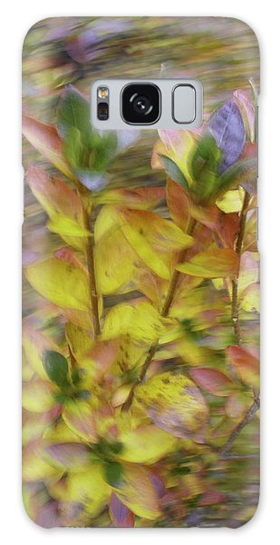 Autumn Azaleas 3 Galaxy Case