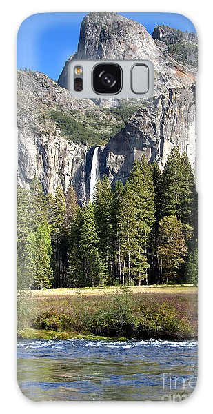 Yosemite National Park-sentinel Rock Galaxy Case by David Millenheft
