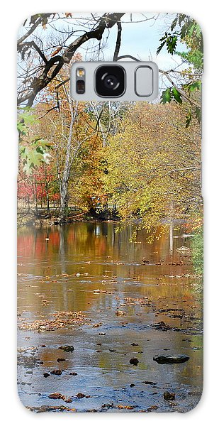 Fall  Begins Galaxy Case by Kathy Gibbons