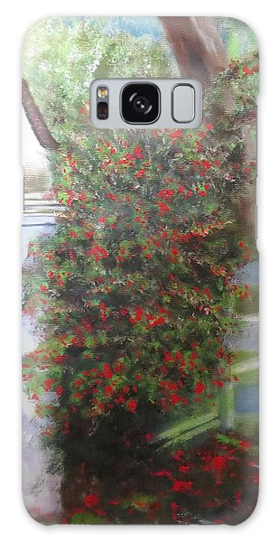 Fall Berries Galaxy Case by Sharon Schultz