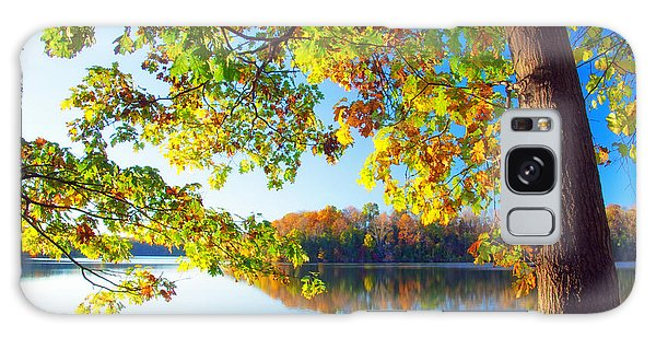Fall By The Lake Galaxy Case