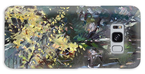 Geese Galaxy S8 Case - Fall By The Pond by Ylli Haruni