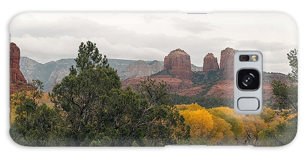 Fall Color Sedona 0495 Galaxy Case