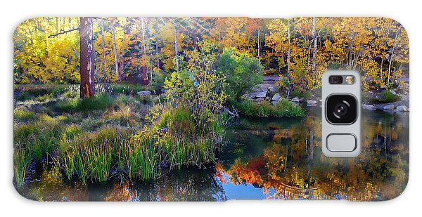 Fall Color Reflection Along Bishop Creek Galaxy Case