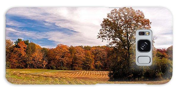 Fall Colors At Poets Walk Park Galaxy Case by Nancy De Flon
