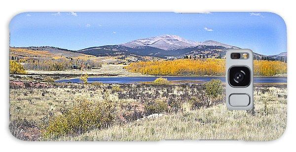 Fall Colors Fairplay Colorado Galaxy Case