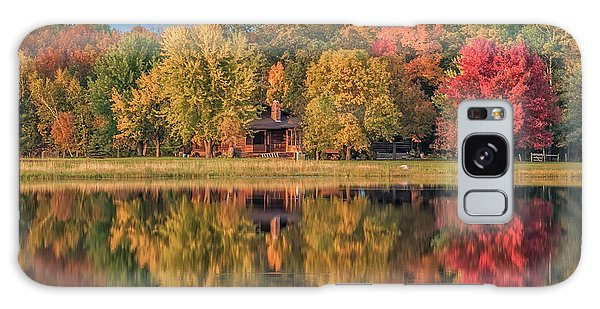 Fall Colors In Cabin Country Galaxy Case by Paul Freidlund