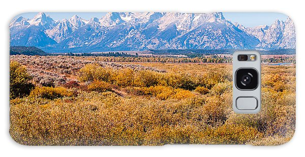 Fall Colors In The Tetons   Galaxy Case