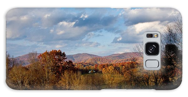 Fall Colors North Carolina Mountains Galaxy Case by John Pagliuca