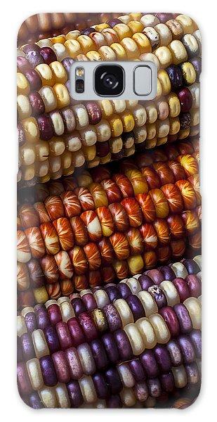 Indian Corn Galaxy Case - Fall Corn by Garry Gay