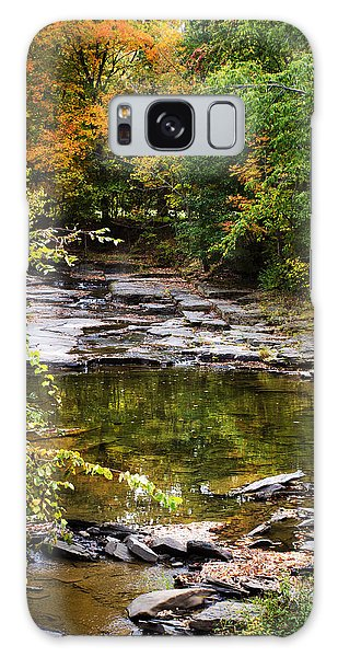 Fall Creek Galaxy Case by Christina Rollo