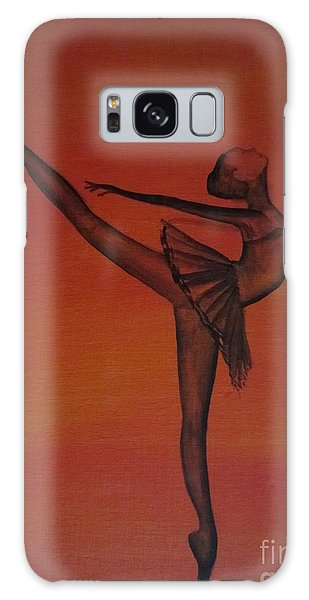 Fall Dancer 1 Galaxy Case by Laurianna Taylor