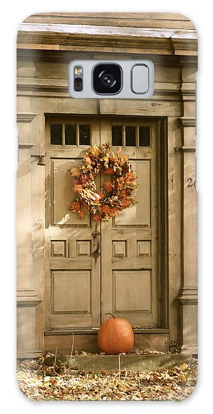 Traditional Fall Decor In New England Galaxy Case by Robin Regan