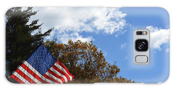Fall Flag Galaxy Case
