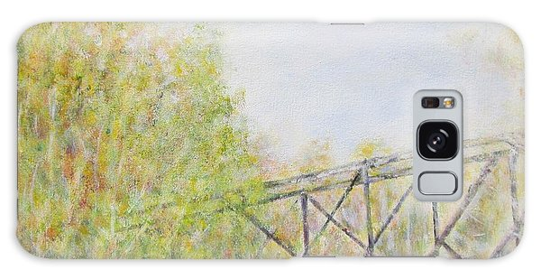Fall Foliage And Bridge In Nh Galaxy Case
