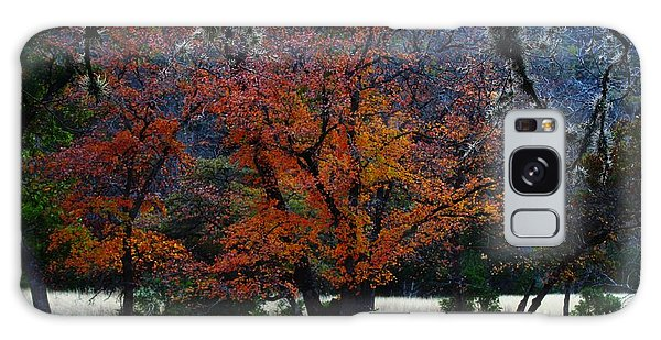 Fall Foliage At Lost Maples State Park  Galaxy Case