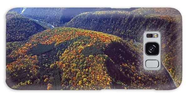 Wellsboro Galaxy Case - Fall Foliage Pine Creek Gorge Pa Aerial by Blair Seitz