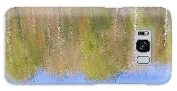 Fall Foliage Reflected In Lake Galaxy Case
