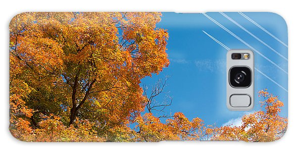 Fighter Galaxy Case - Fall Foliage With Jet Planes by Tom Mc Nemar