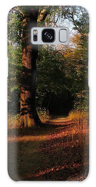 Fall Forest Galaxy Case by Eva Csilla Horvath