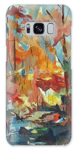 Fall From My Window Galaxy Case by Betty Pieper