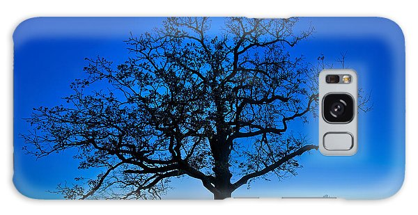 Fall Great Oak At Dawn Galaxy Case