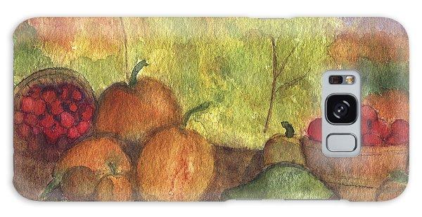 Fall Harvest Galaxy Case by Ann Michelle Swadener