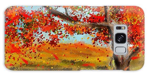 Fall Impressions Galaxy Case by Lourry Legarde