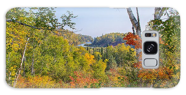 Fall In Gooseberry State Park Galaxy Case