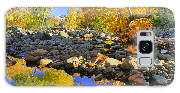 Fall In Oak Creek  Galaxy Case by Dan Myers