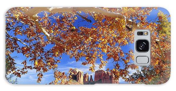 Fall In Sedona Galaxy Case by Dan Myers