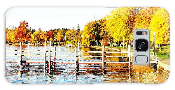 Fall In Skaneateles Ny Galaxy Case by Margie Amberge